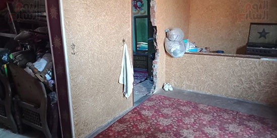 منزل الضحية من الداخل