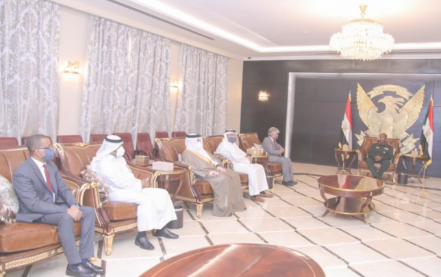 البرهان والوفد البحريني