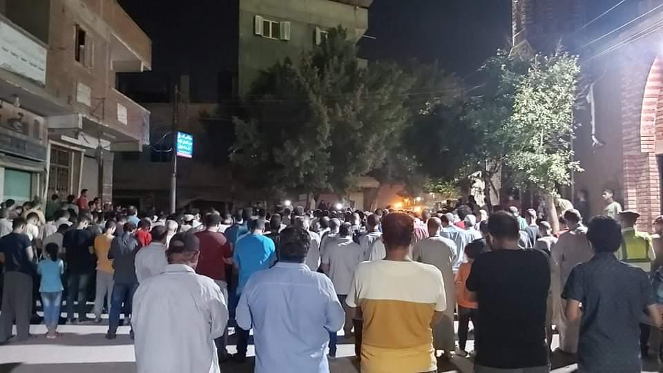 جنازة الشهيد مصطفى عبد الجليل بمنية شبين القناطر 5
