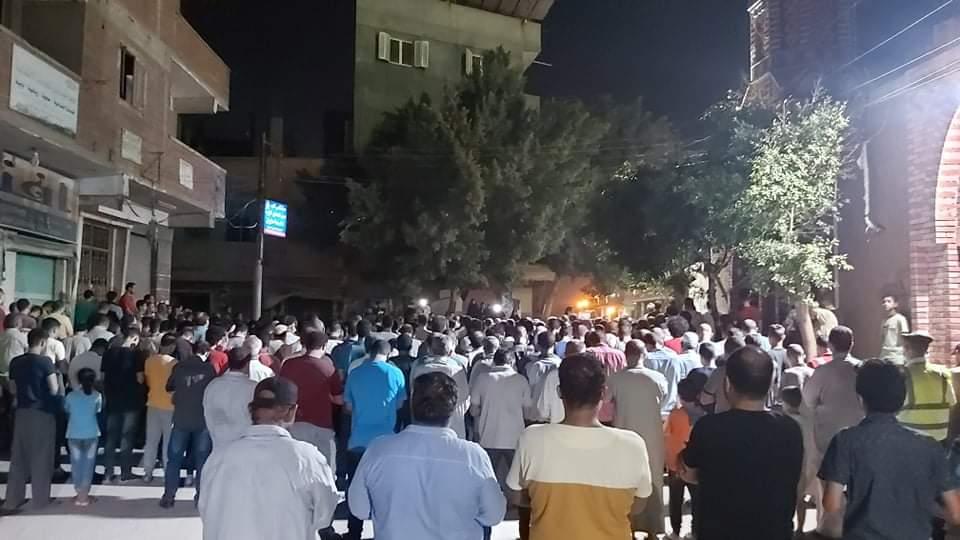 جنازة الشهيد مصطفى عبد الجليل بمنية شبين القناطر 6
