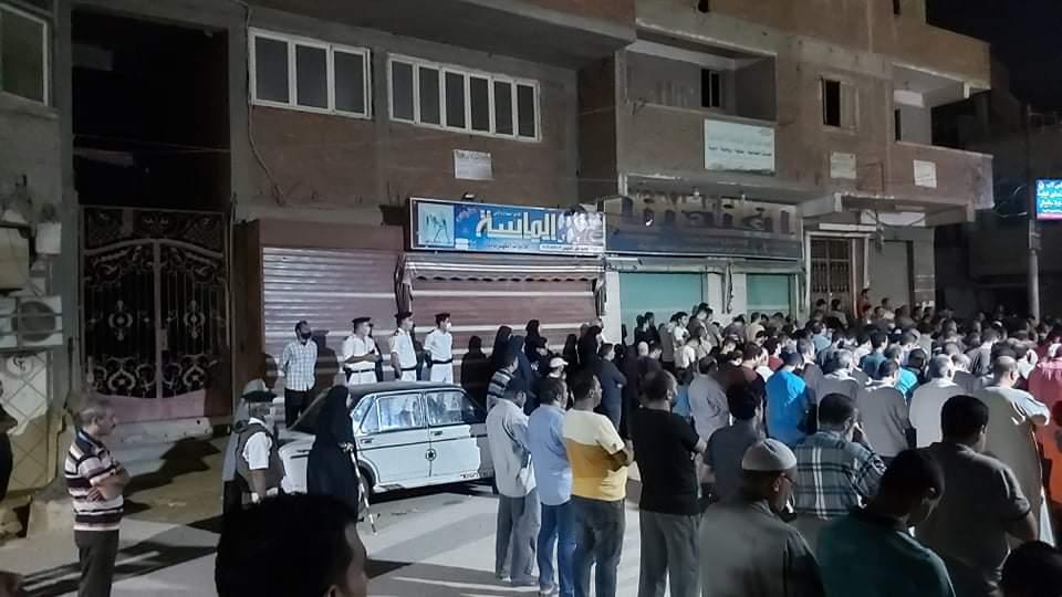 جنازة الشهيد مصطفى عبد الجليل بمنية شبين القناطر 3