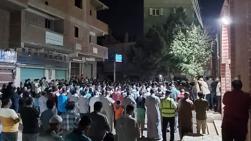 جنازة الشهيد مصطفى عبد الجليل بمنية شبين القناطر 4