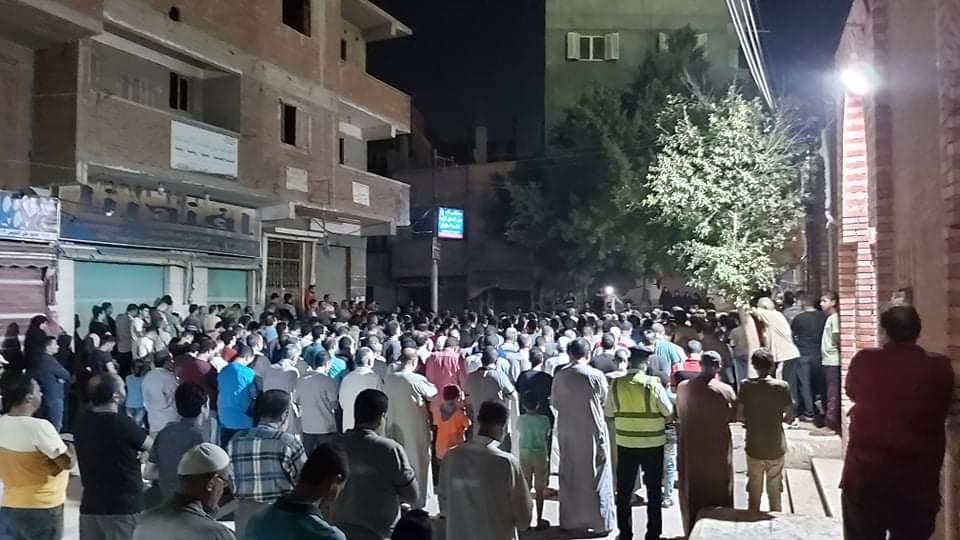 جنازة الشهيد مصطفى عبد الجليل بمنية شبين القناطر 1