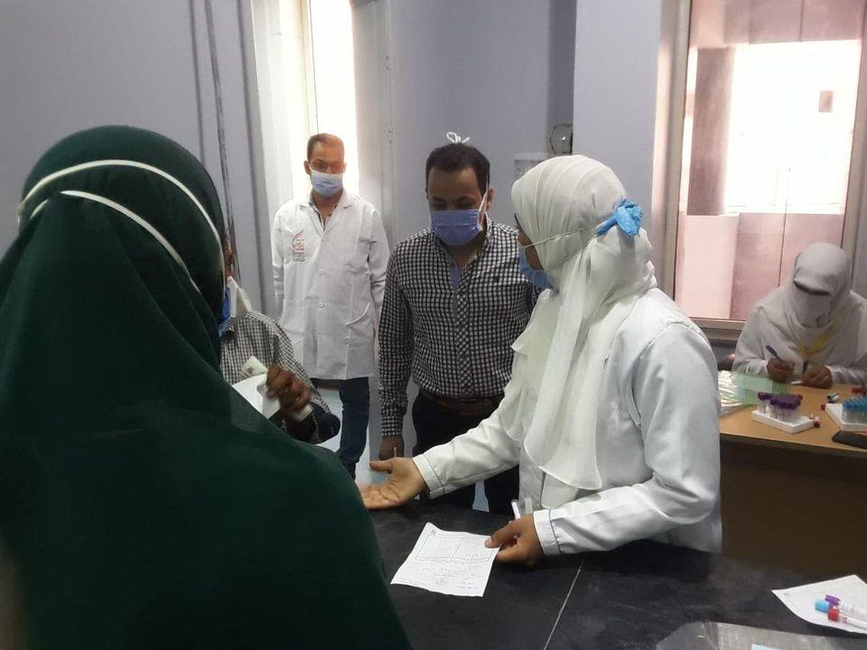 مستشفى حميات الأقصر تعلن إجراء تحاليل PCR لحالات  (1)
