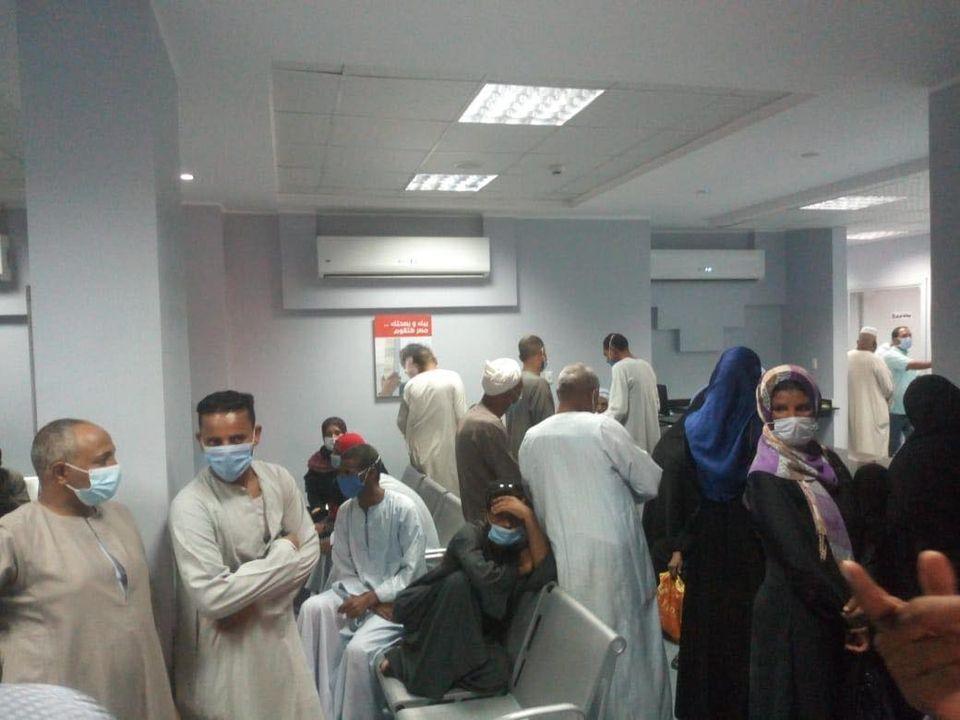 مستشفى حميات الأقصر تعلن إجراء تحاليل PCR لحالات  (5)