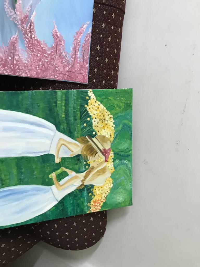 اللوحات الفنية للشاب محمد احمد عبد المجيد  (2)