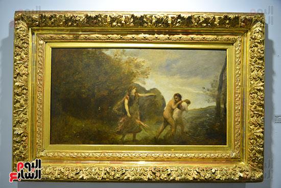 لوحة فى المعرض