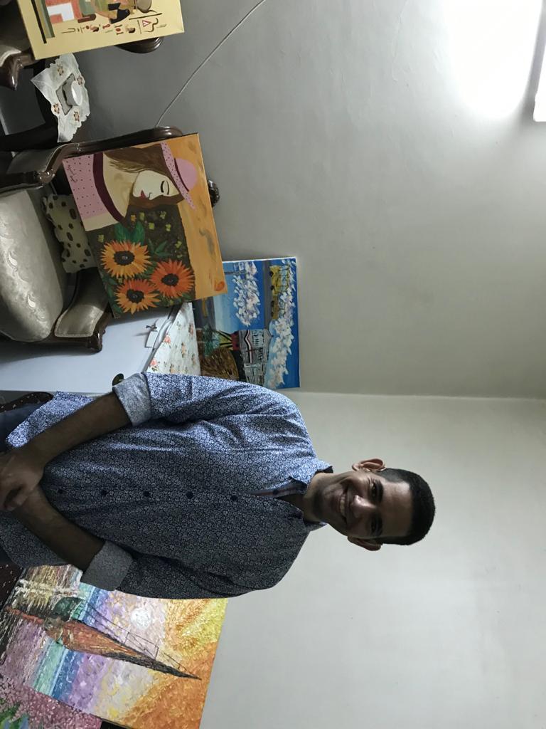 الشاب محمد احمد عبد المجيد ولوحاته الفنية (3)