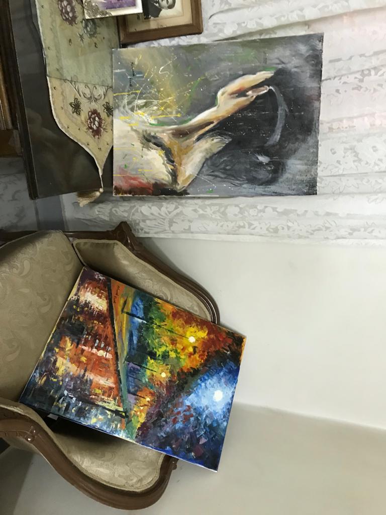 اللوحات الفنية للشاب محمد احمد عبد المجيد  (5)