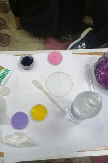 طالبة بمدرسة الصم وضعاف السمع بسوهاج تبتكر ألوانا سحرية (4)
