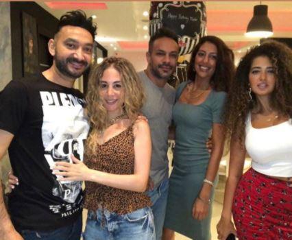 نادر حمدي في عيد ميلاده