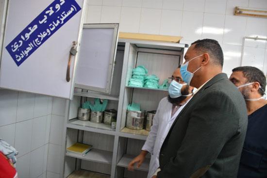 محافظ الدقهلية فى زيارة تفقدية لمركز ومدينة شربين (4)