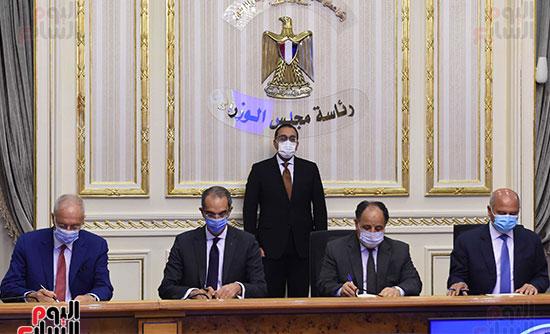 توقيع عقد تمويل إنشاء محطة متعددة الأغراض بميناء الإسكندرية (6)