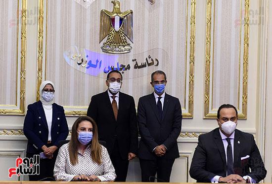 توقيع عقد تمويل إنشاء محطة متعددة الأغراض بميناء الإسكندرية (9)