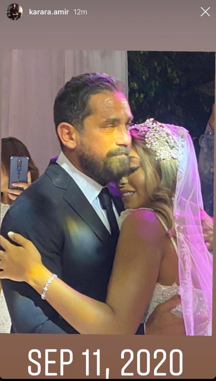حفل زفاف شقيقة أمير كرارة