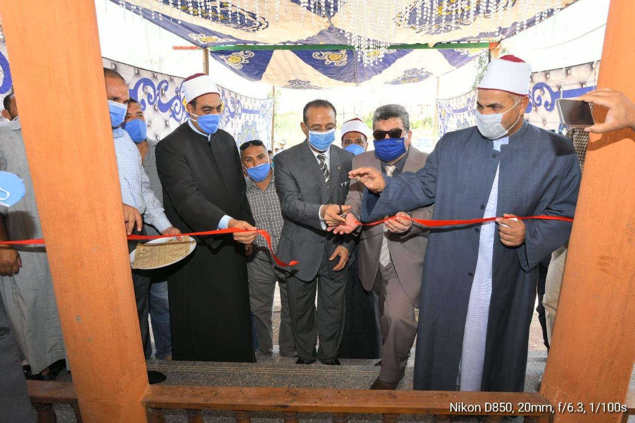 افتتاح مسجد عزبة نزهة كوبرى مشه بمركز المنزلة في الدقهلية (2)