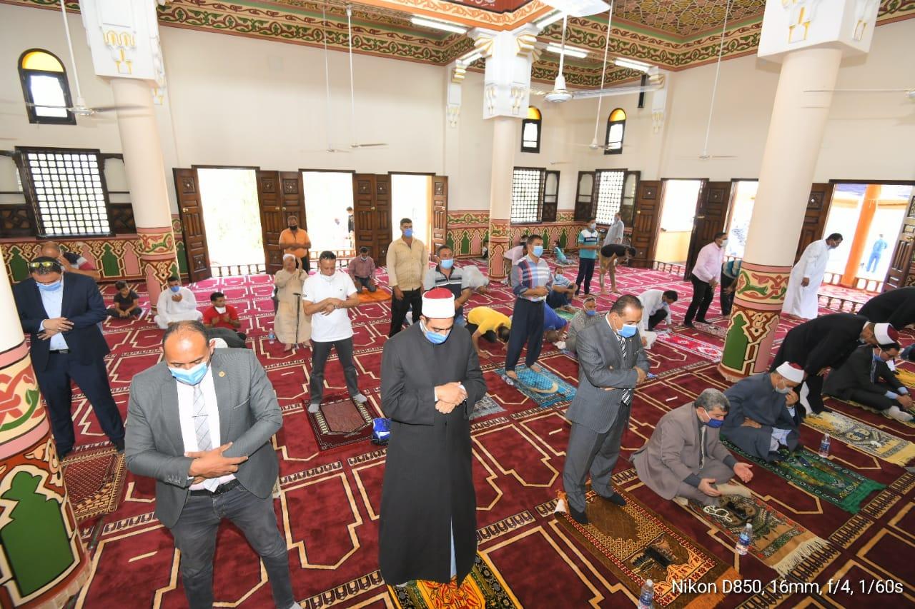 افتتاح مسجد عزبة نزهة كوبرى مشه بمركز المنزلة في الدقهلية (1)