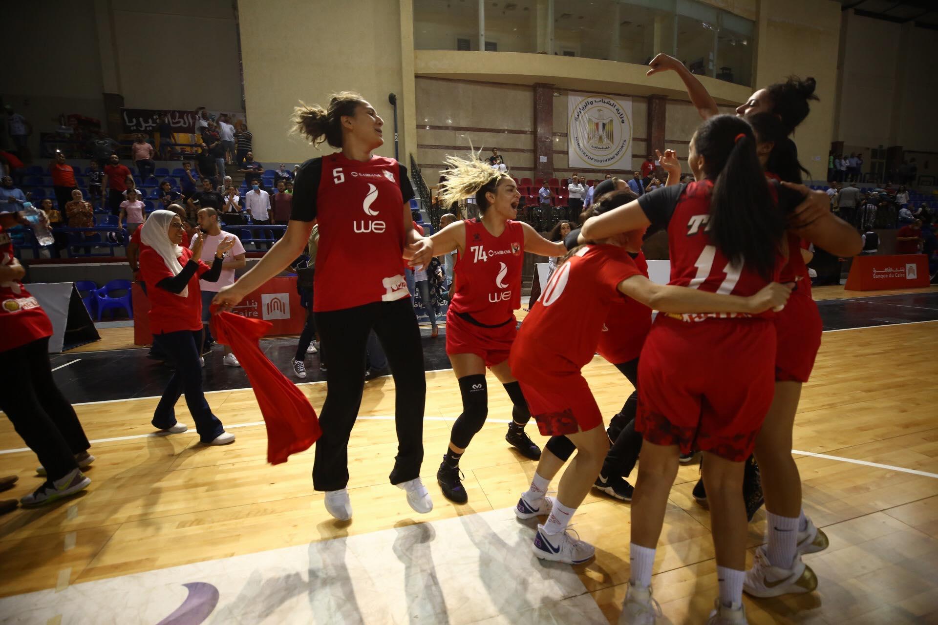 دوري كرة السلة سيداتأهلاوي