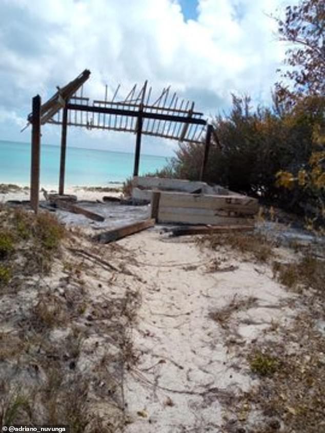 الدمار في الجزيرة