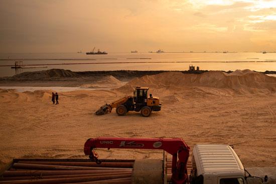 تنظيف خليج مانيلا جزء من جهود الحكومة لإعادة تأهيل وتجميل المياه الملوثة