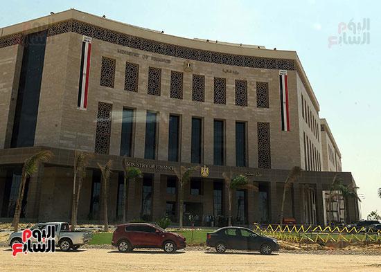 مبني وزارة المالية في العاصمة الإدارية