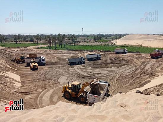 الرمال السوداء مشروع قومى على أرض كفر الشيخ (11)