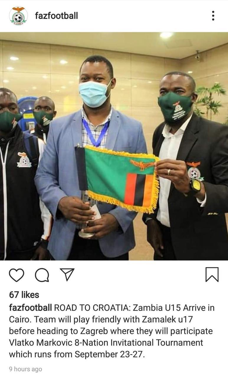 الاتحاد الزامبي لكرة القدم