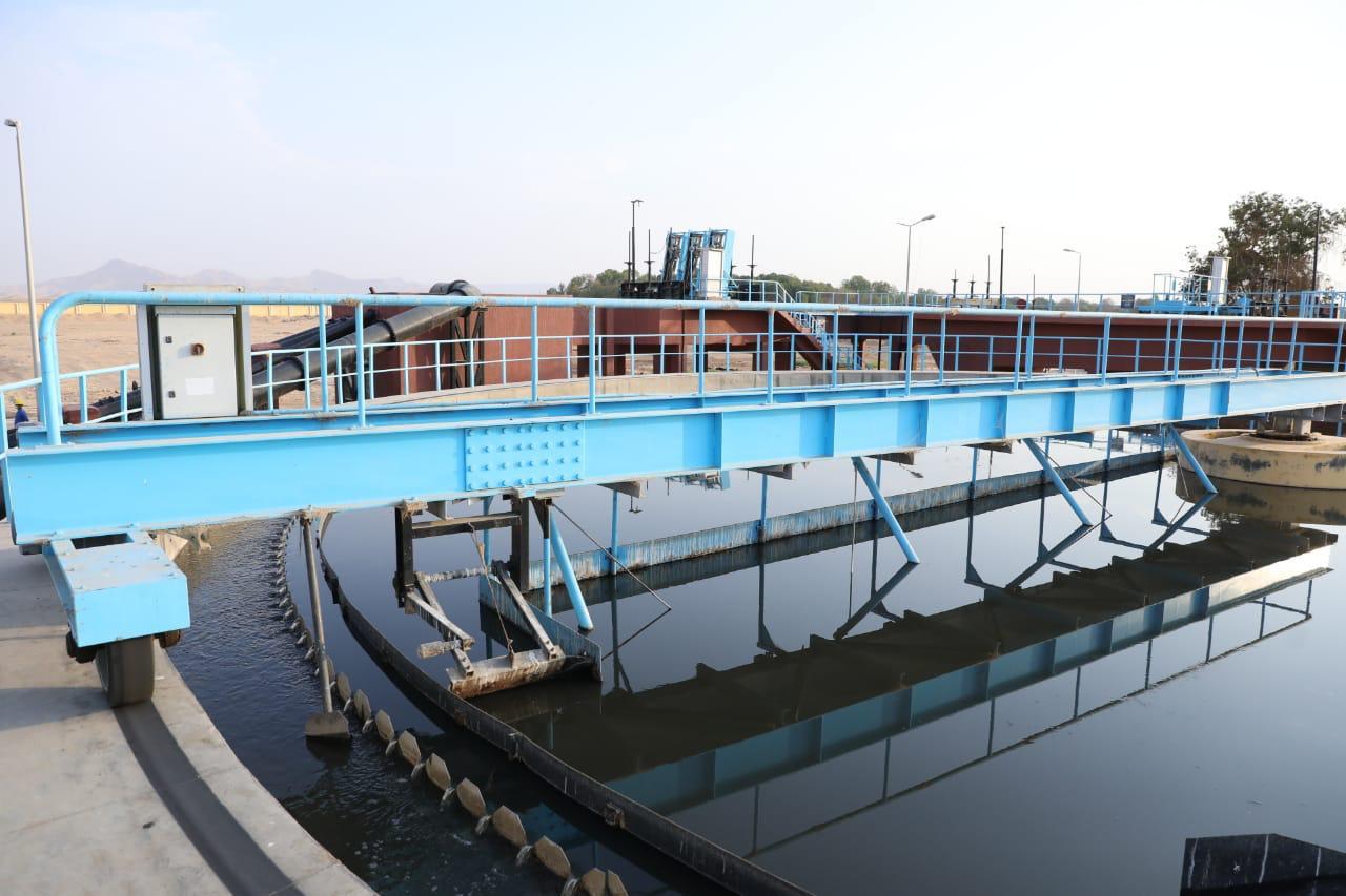 وزيرة التعاون الدولى تفتتح توسعات محطة معالجة مياه الصرف بالأقصر (1)