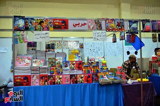 افتتاح معرض أهلا مدارس (31)