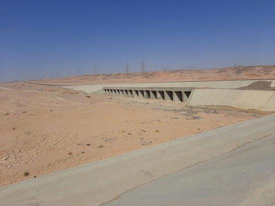 كيف حمت السدود المواطنين وممتلكاتهم بالبحر الأحمر من مياه السيول (8)