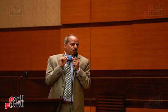 وزير الأوقاف يكرم الفائزين فى مسابقة رؤية للفكر المستنير (24)