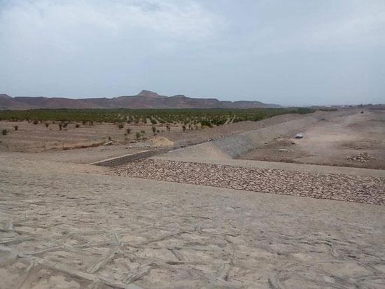 كيف حمت السدود المواطنين وممتلكاتهم بالبحر الأحمر من مياه السيول (14)