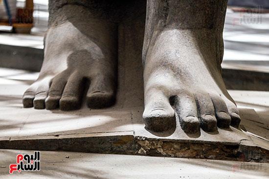 قدم تمثال الملك رمسيس الثاني