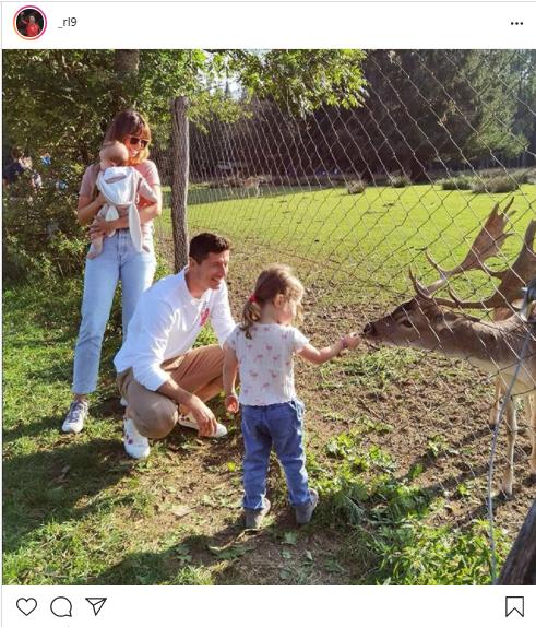 ليفاندوفيسكى وعائلته