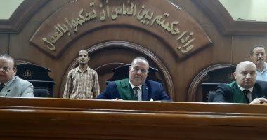 المستشار سلامة جاب الله رئيس محكمة جنايات الزقازيق