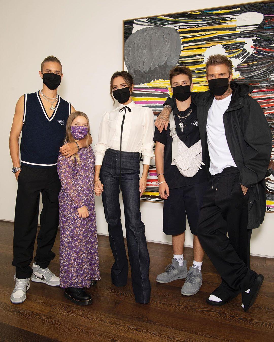 عائلة فيكتوريا بيكهام