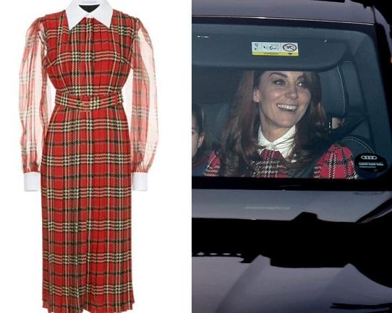 فستان Emilia Wickstead بتصميم متين