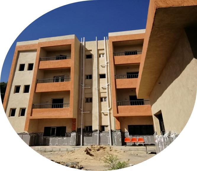 مشروع تطوير مستشفى حميات بنى حميل- البلينا- سوهاج