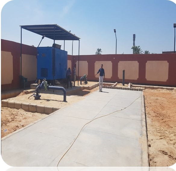 مشروع تنفيذ محطة مياه سعد السعود