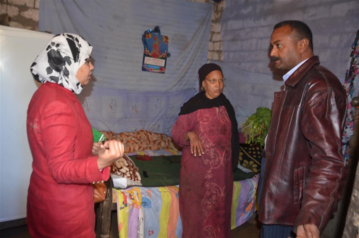 كيف دعمت مبادرة حياة كريمة بالأقصر 3 قرى  (2)