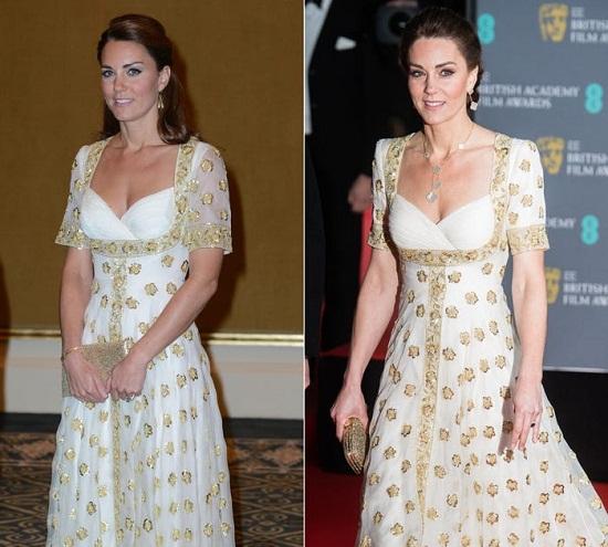 بعض التغييرات الطفيفة على فستان ألكسندر ماكوين