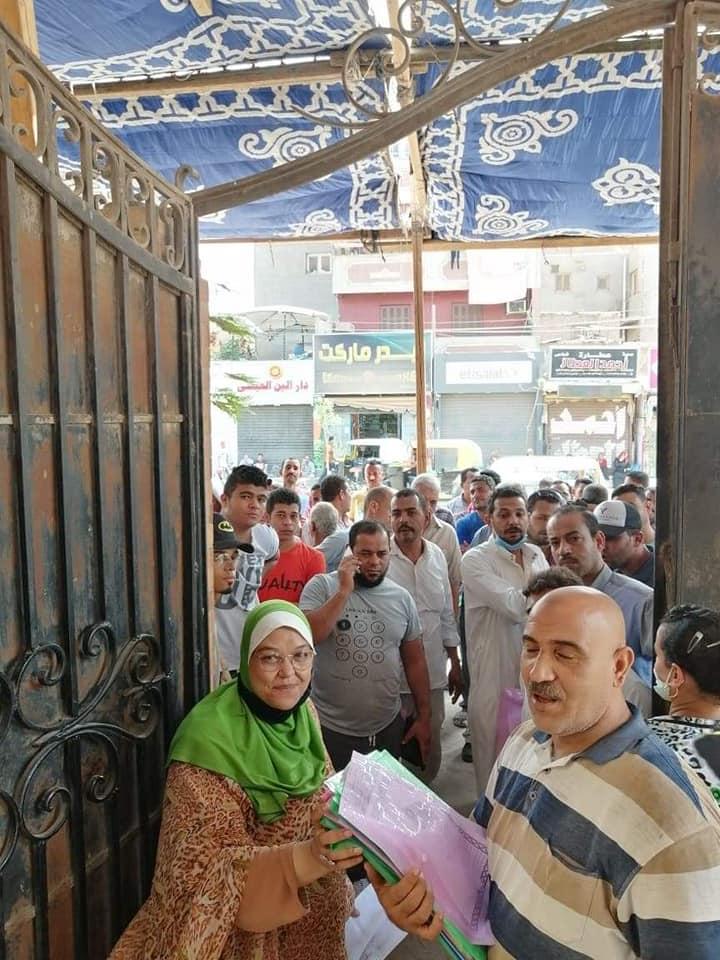 إقبال المواطنين على تقدي طلبات التصالح في مخالفات البناء 5