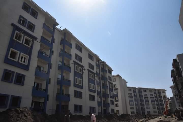 المرحلة الثالثة للاسكان الاجتماعى  فى بورسعيد (4)