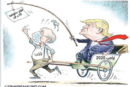 كاريكاتير ترامب
