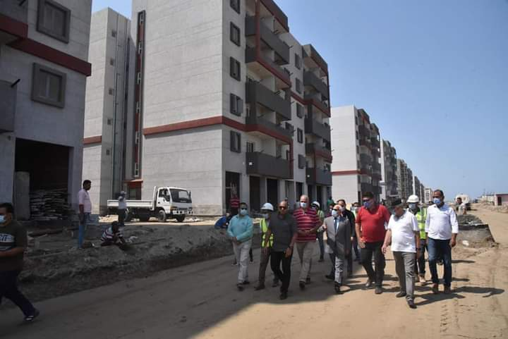 المرحلة الثالثة للاسكان الاجتماعى  فى بورسعيد (5)