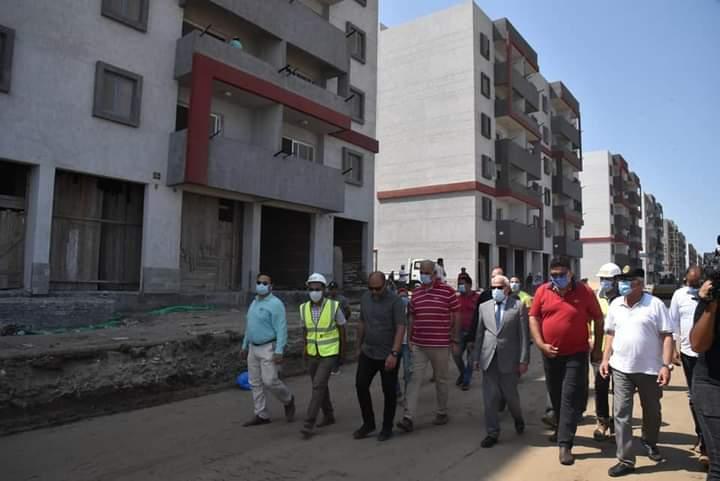 المرحلة الثالثة للاسكان الاجتماعى  فى بورسعيد (2)