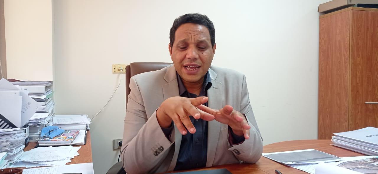 الدكتور ولاء جاد الكريم مدير الوحدة المركزية لمبادرة حياة كريمة بوزارة التنمية المحلية (1)