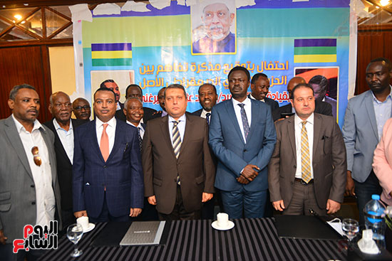 توقيع مذكرة تفاهم بين حركة جيش تحرير السودان (1)