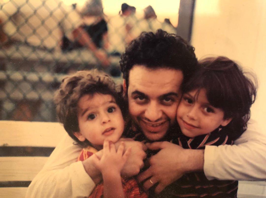 مصطفى قمر وأولاده في طفولتهما (1)