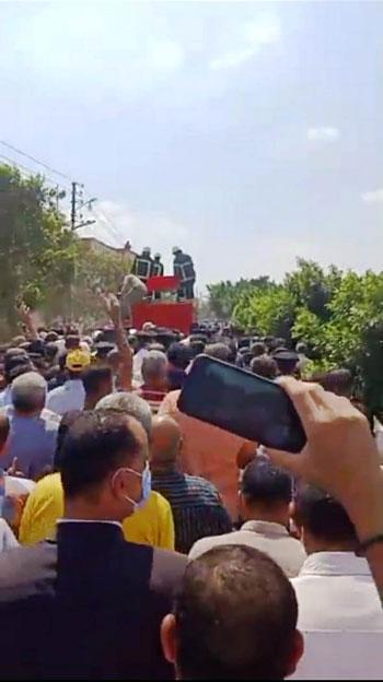 تشييع جنازة أمين الشرطة عبد المجيد حربى (4)